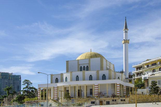 Durres, Albanien, Moske