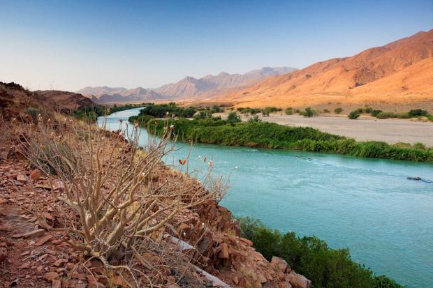 Kunene floden - Angola