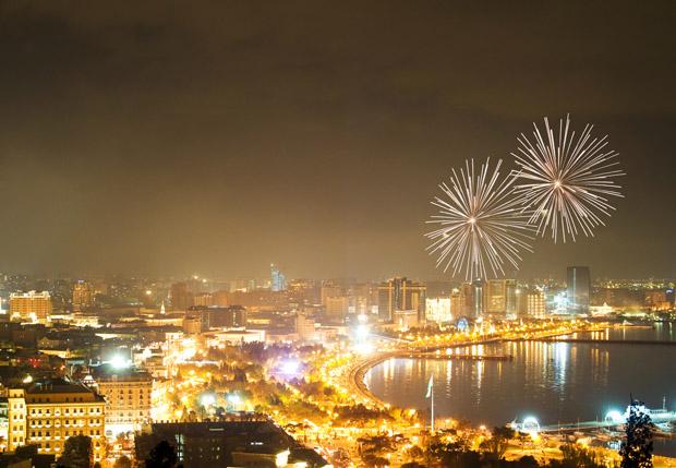 Baku om natten