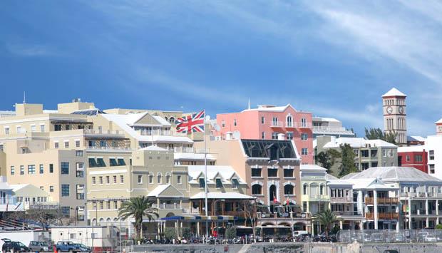 Havnefront i Bermuda
