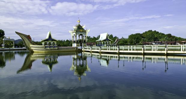 Flydende Moske i Brunei