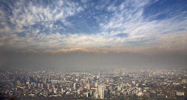 Andesbjergene og Santiago