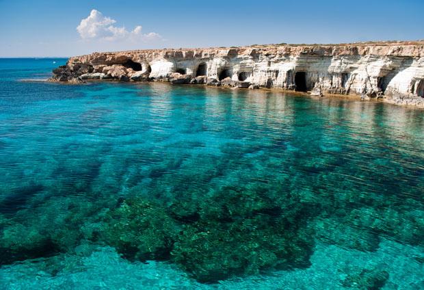 Snorkling på Cypern