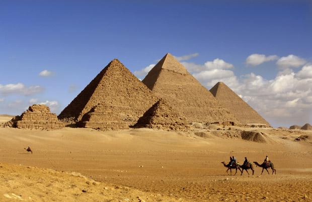 Egypten - Pyramider