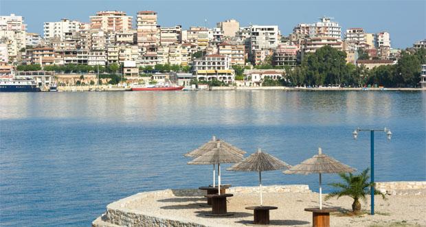 Albanien - havnefront