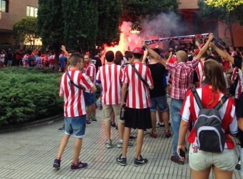 fodboldrejser - atletico madrid fans