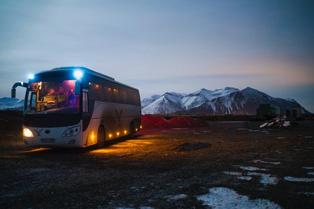 busrejse på island