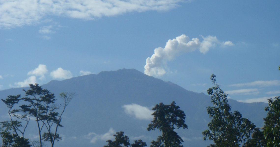 Vulkan i Costa Rica