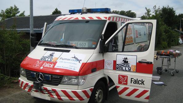 falck-ambulance
