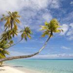 Sandstrand på Fiji