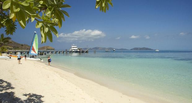 Fiji - mere sandstrand