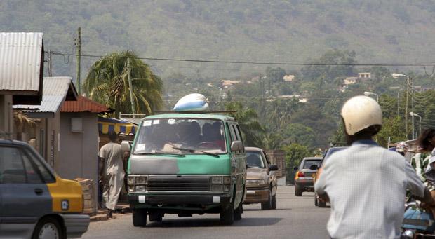 Ghana - Trafik