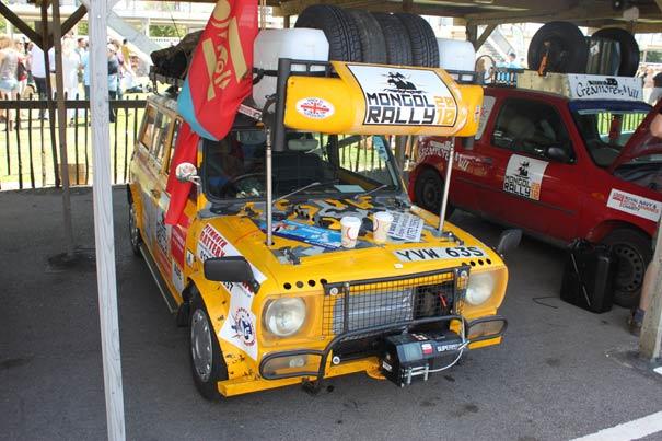 Mongol Rally bil