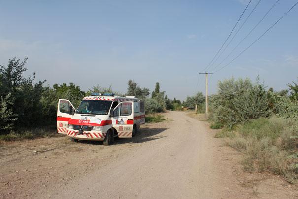 På vej mod Kirgisistan